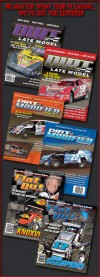 Three Wide Media, LLC Publishers of Dirt Late Model, Dirt Modified, and Flat Out magazines