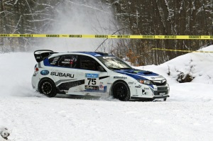 David Higgins and Craig Drew made Sno*Drift 2013 exciting before finishing 2nd in the two-day contest.