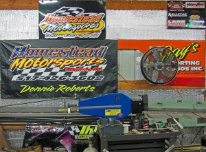 Homestead Motorsports in Gladwin, Michigan specializes in Chassis distribution, manufacturing and custom set-up assistance.