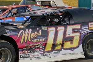 Matt Pickard sits in line-up awaiting a great night of racing at Crystal Motor Speedway.