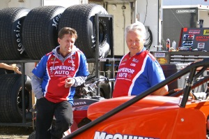 Three Generations of Andretti's have found a home in USAC.  John & Aldo have a lot of wisdom to impart on 20-Year-Old Jarrett Andretti who pilots the no.18A Sprinter.