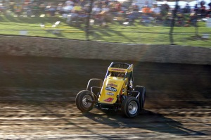 Tracy Hines was wicked-fast throughout the Four-Crown Nationals
