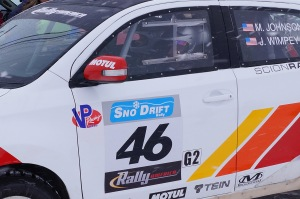 Matthew Johnson & Jeremy Wimpey were ready to hit the backroads in their no.46 Scion xD at Sno*Drift 2014