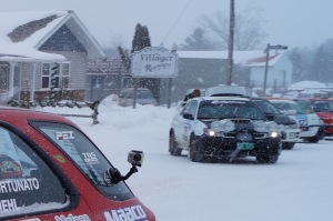 On a very cold start to the 2014 Sno*Drift Rally, competitors had the GoPro's ready to capture every slippery moment from downtown Lewiston on Friday to Hillman on Saturday night.