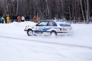 Erik Zenz & Dustin Masters drove their no.323 to the Sno portion of the regional event win.