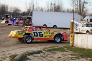 Kyle Prochazka is getting on track at Crystal Motor Speedway.
