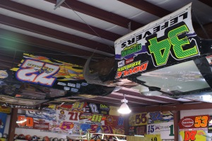 The 2500 square-foot National Dirt Late Model Hall of Fame is filled with memorabilia from the sports best
