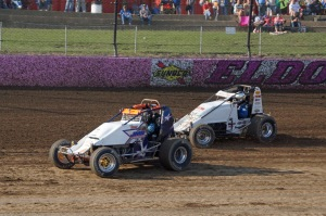 Eldora Speedway has always been home to exciting USAC Sprint Car racing action